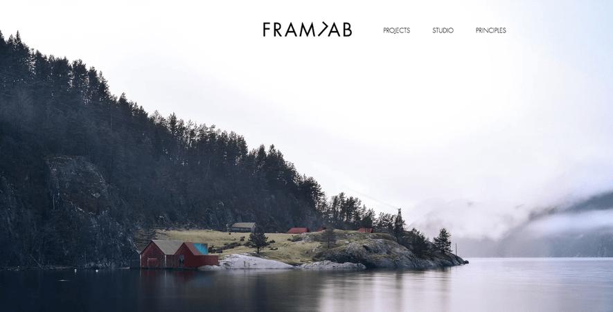 FramlabのWEBサイト