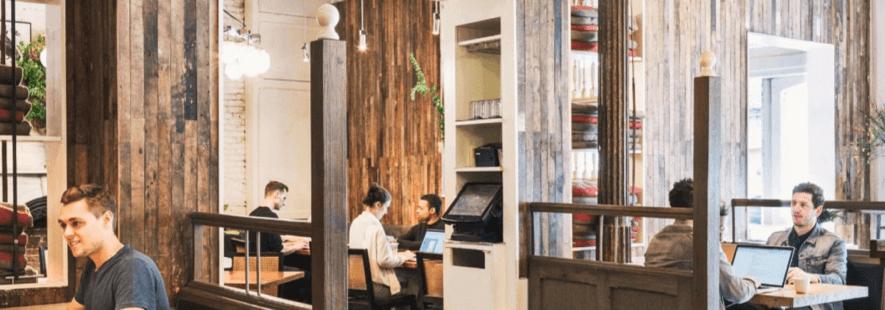 レストランを活用したコワーキングスペース