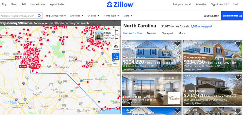 アメリカの不動産テック企業 Zillow